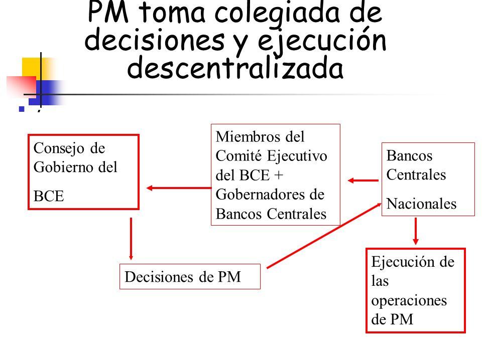 PM toma colegiada de decisiones y ejecución descentralizada