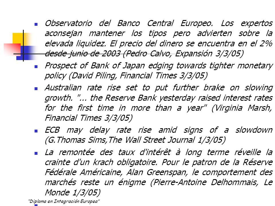 Observatorio del Banco Central Europeo