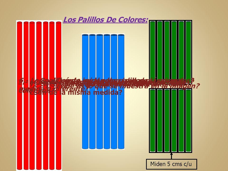 Los Palillos De Colores:
