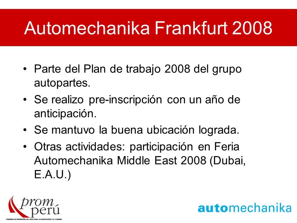 Automechanika Frankfurt 2008
