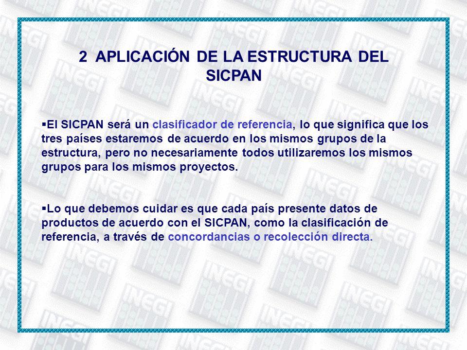 2 APLICACIÓN DE LA ESTRUCTURA DEL SICPAN