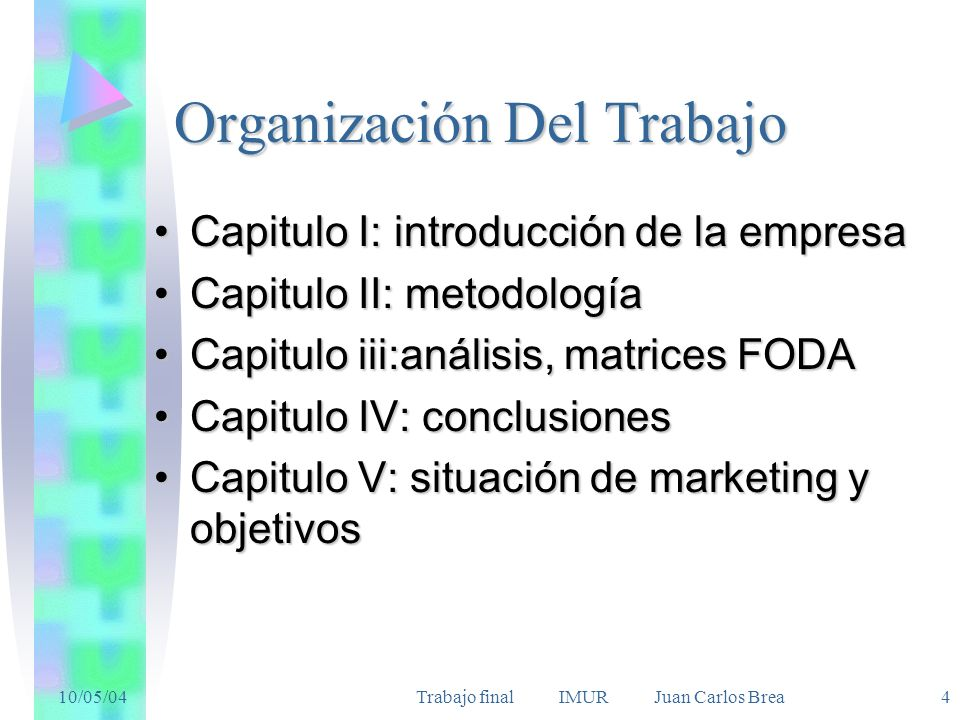 Organización Del Trabajo