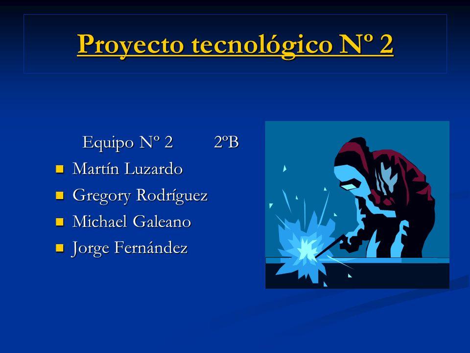 Proyecto tecnológico Nº 2