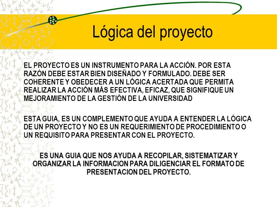 Lógica del proyecto