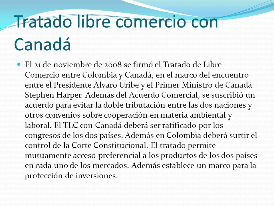 Tratado libre comercio con Canadá
