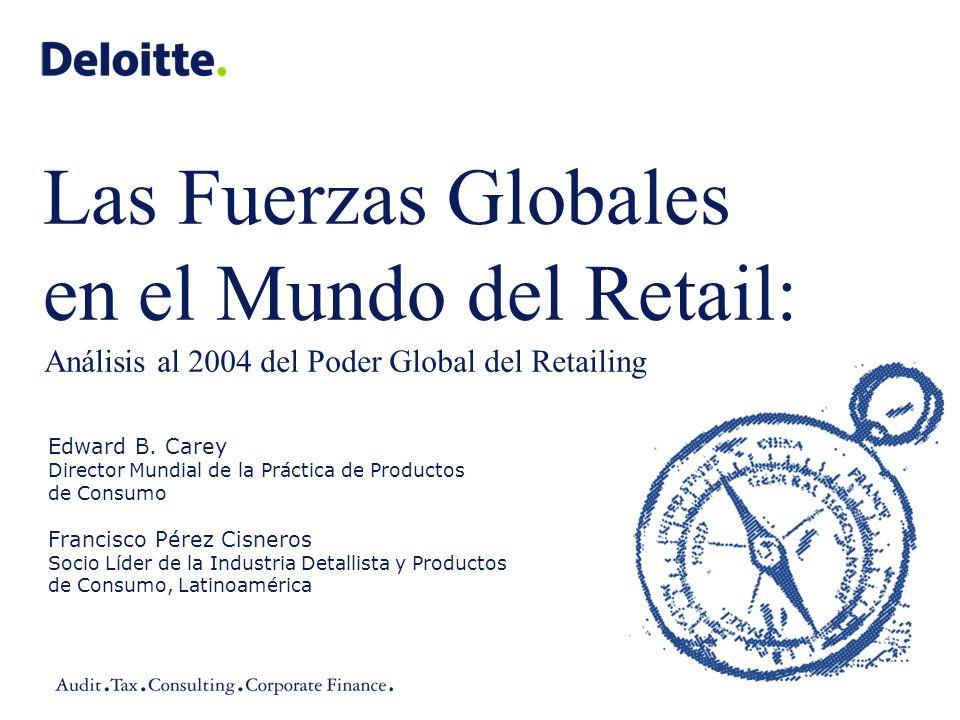 Las Fuerzas Globales en el Mundo del Retail: