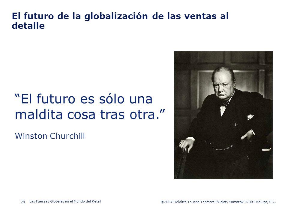El futuro de la globalización de las ventas al detalle