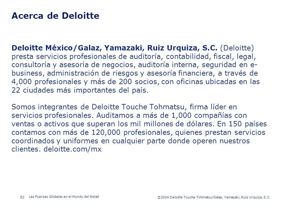 Acerca de Deloitte