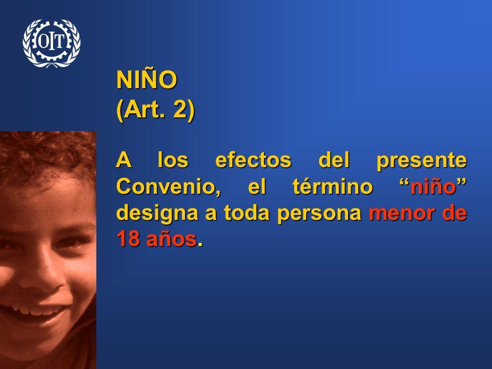 NIÑO (Art.