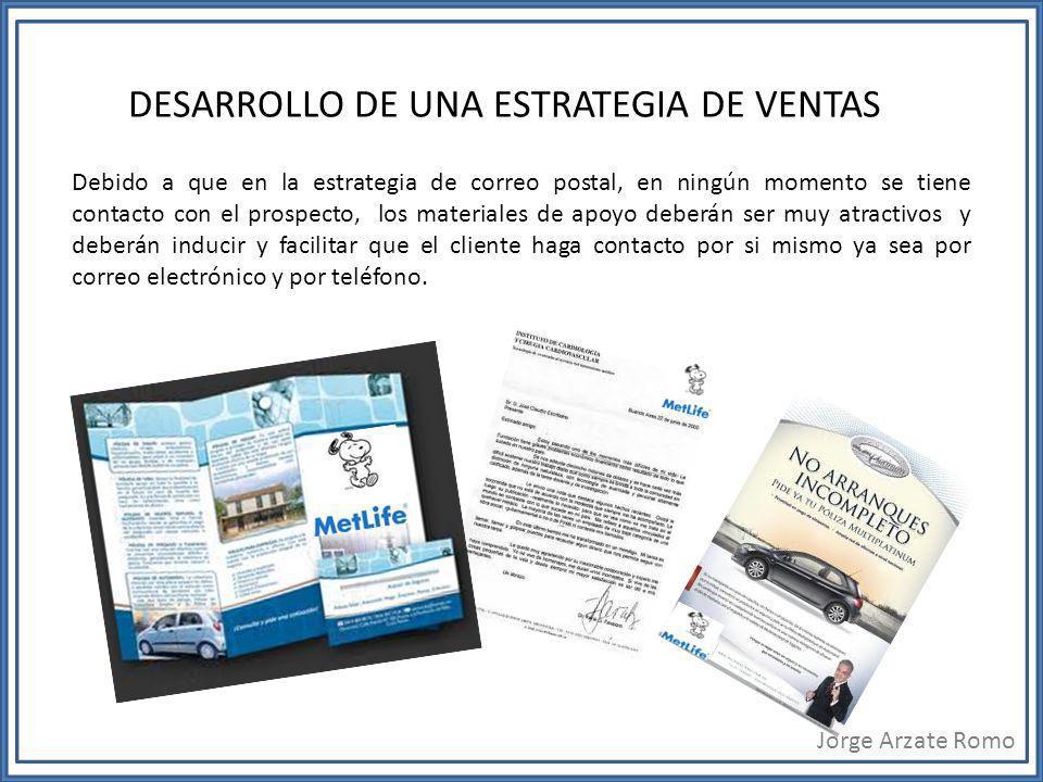 DESARROLLO DE UNA ESTRATEGIA DE VENTAS