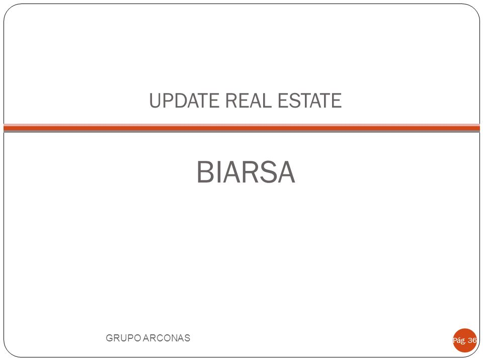 UPDATE REAL ESTATE BIARSA