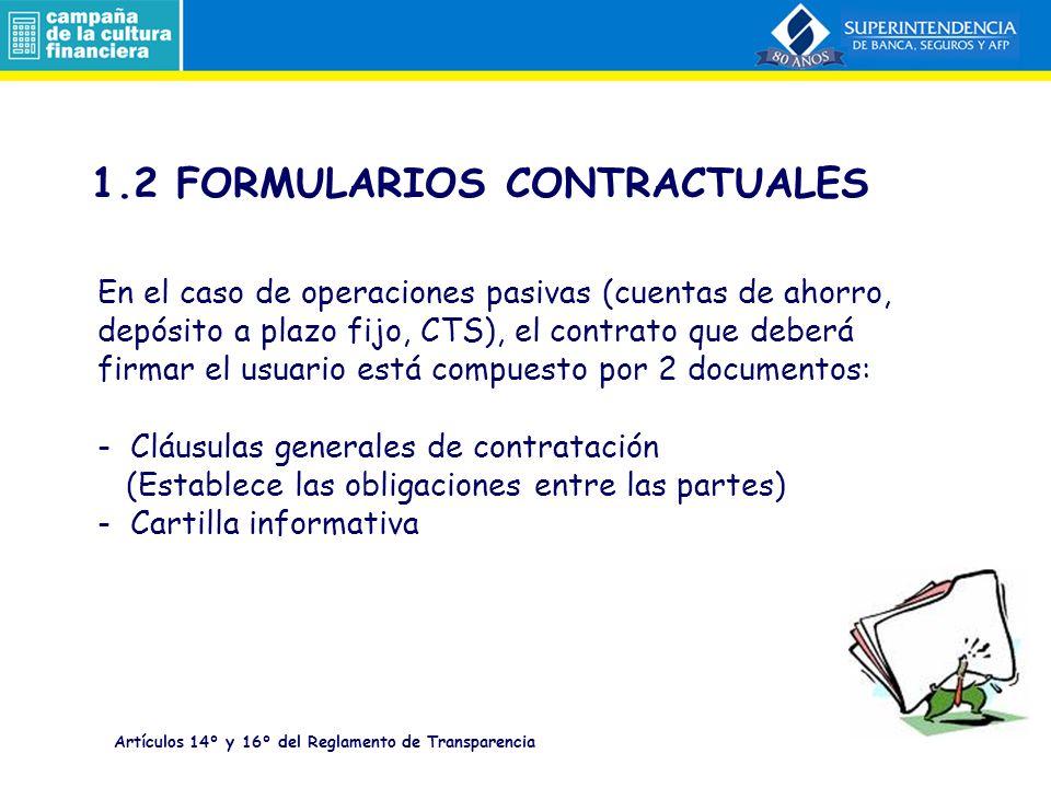 1.2 FORMULARIOS CONTRACTUALES