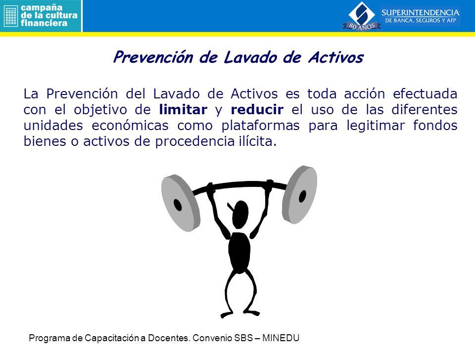 Prevención de Lavado de Activos