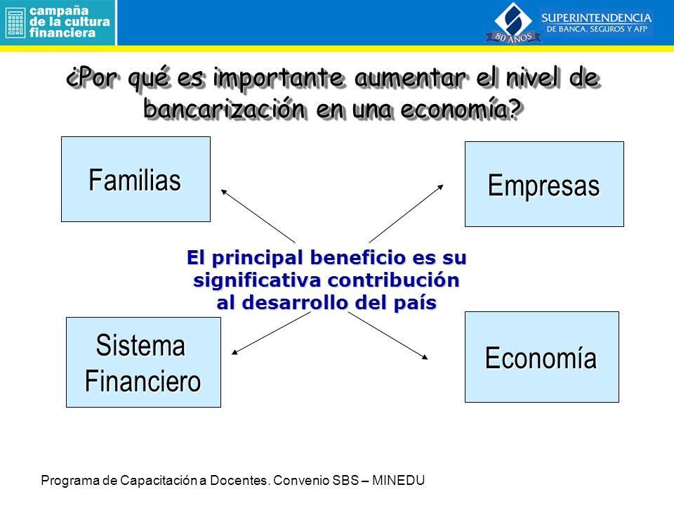 Familias Empresas Sistema Economía Financiero