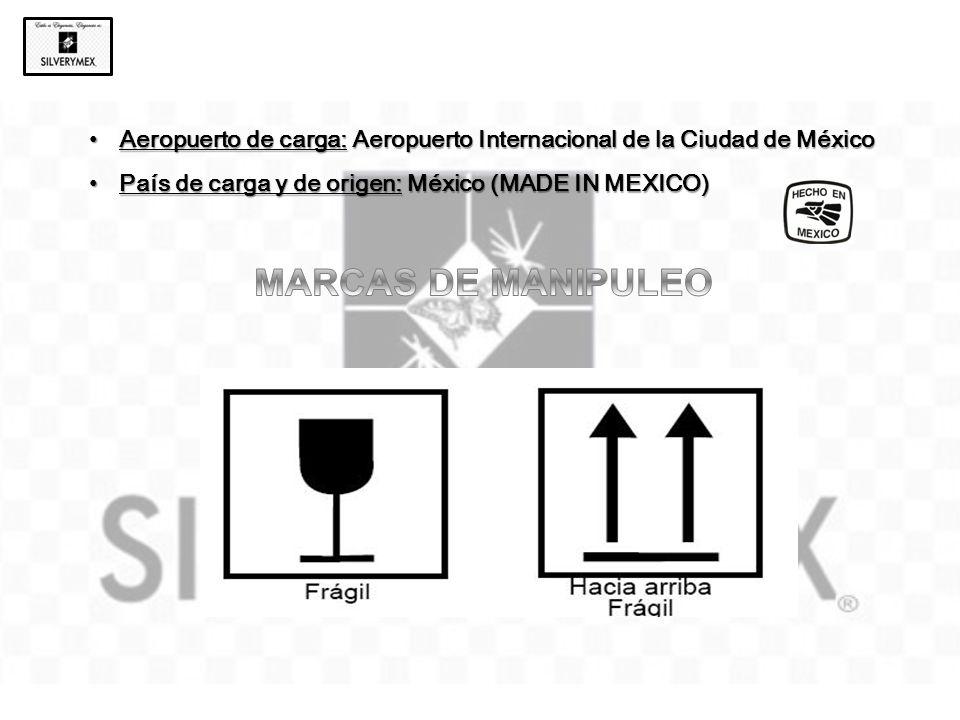 Aeropuerto de carga: Aeropuerto Internacional de la Ciudad de México