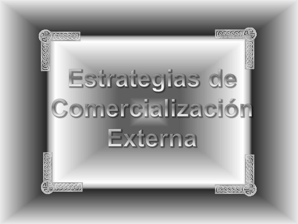 Estrategias de Comercialización Externa