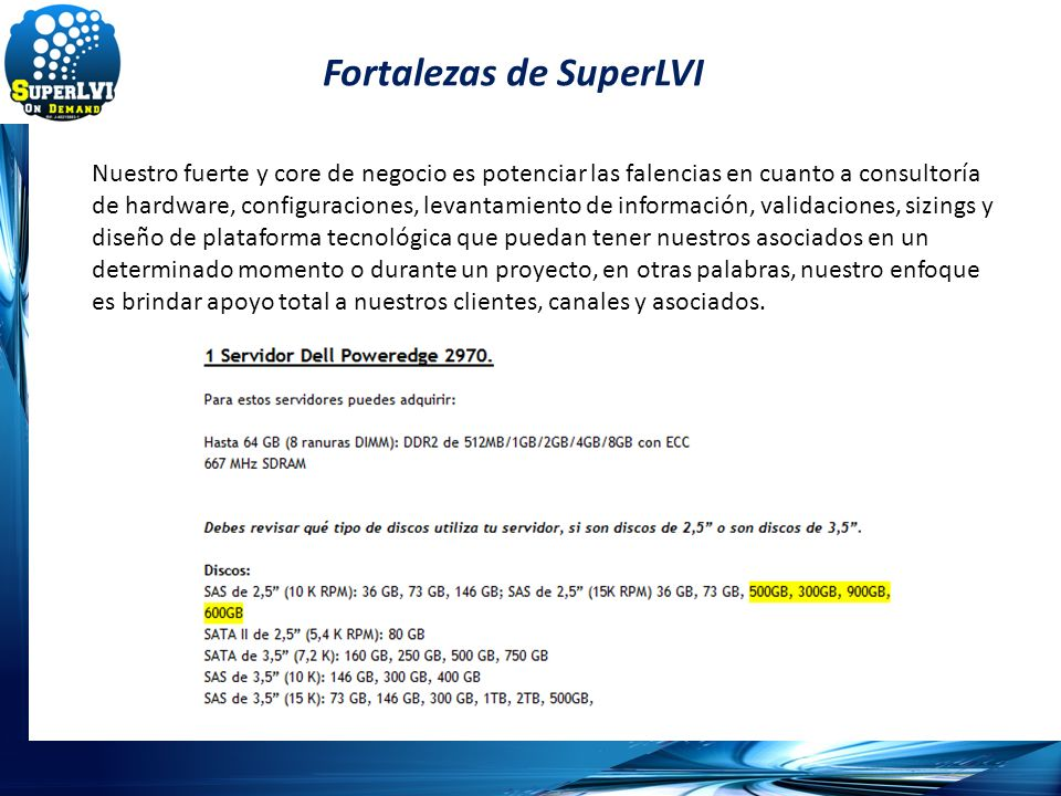 Fortalezas de SuperLVI