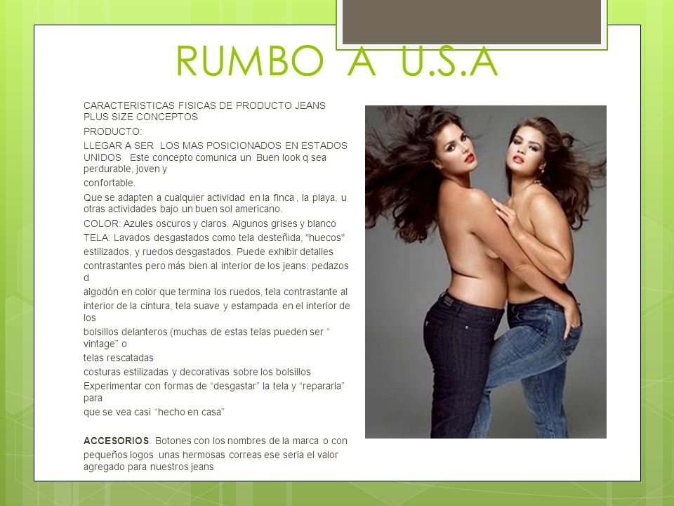 RUMBO A U.S.A