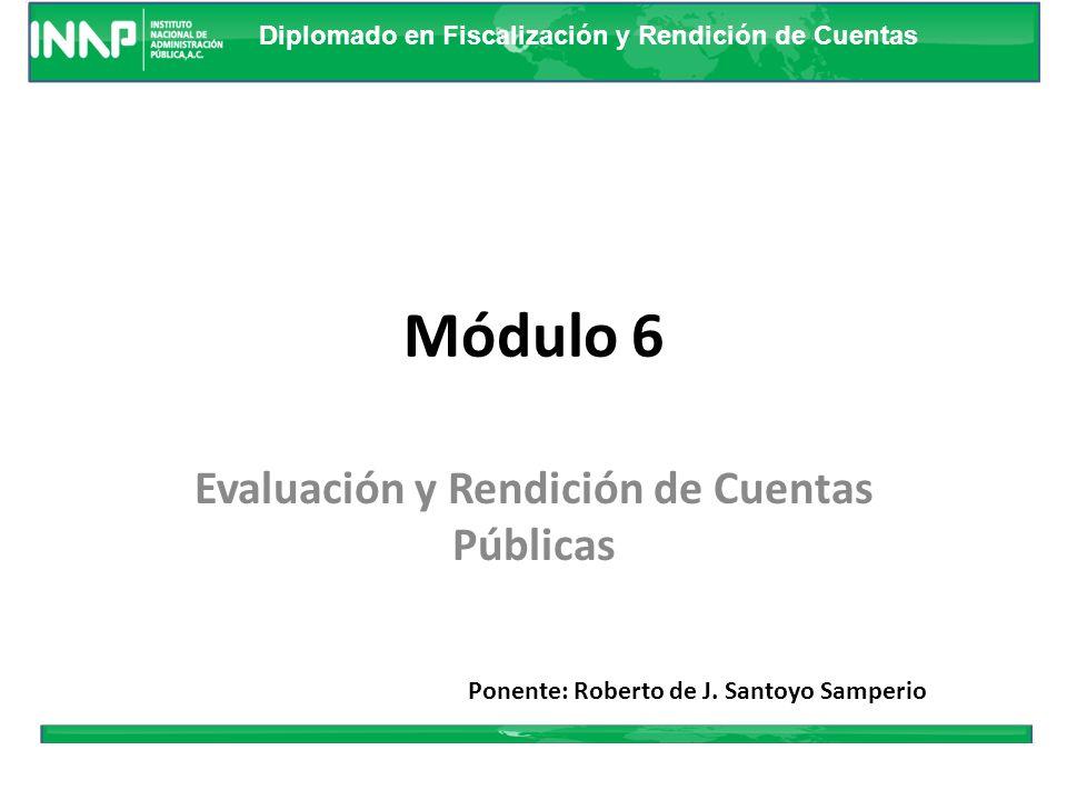 Evaluación y Rendición de Cuentas Públicas