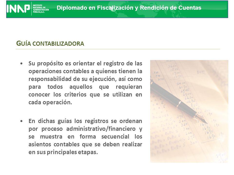 Curso de Replicadores GUÍA CONTABILIZADORA.