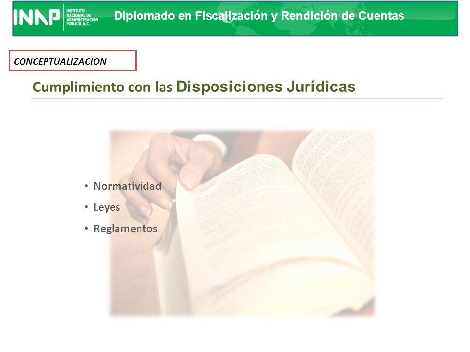Cumplimiento con las Disposiciones Jurídicas