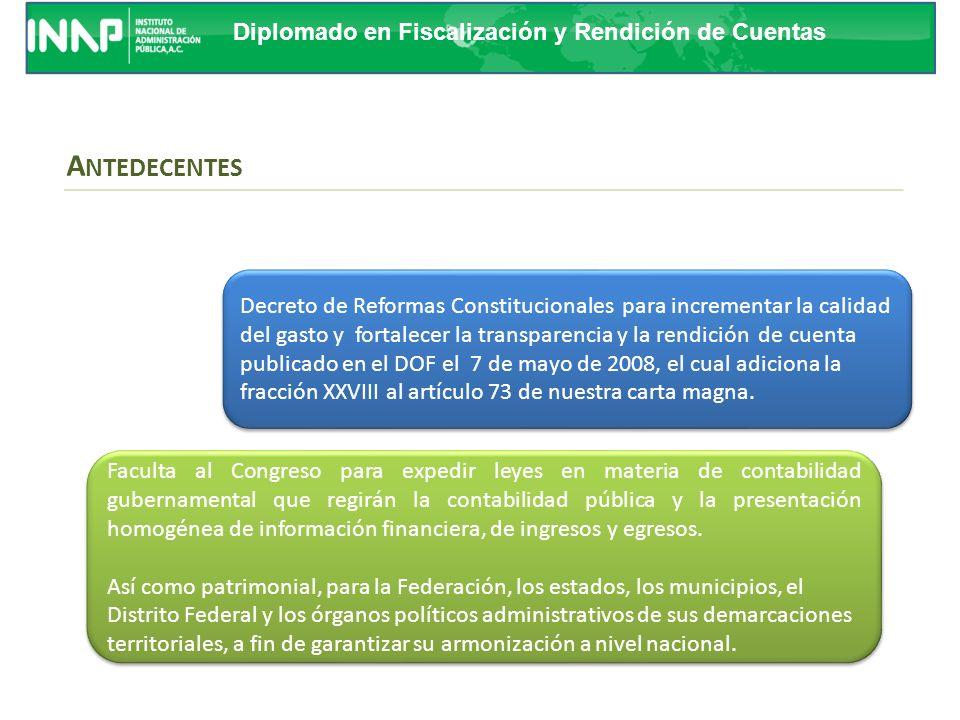Curso de Replicadores ANTEDECENTES. Decreto de Reformas Constitucionales para incrementar la calidad.
