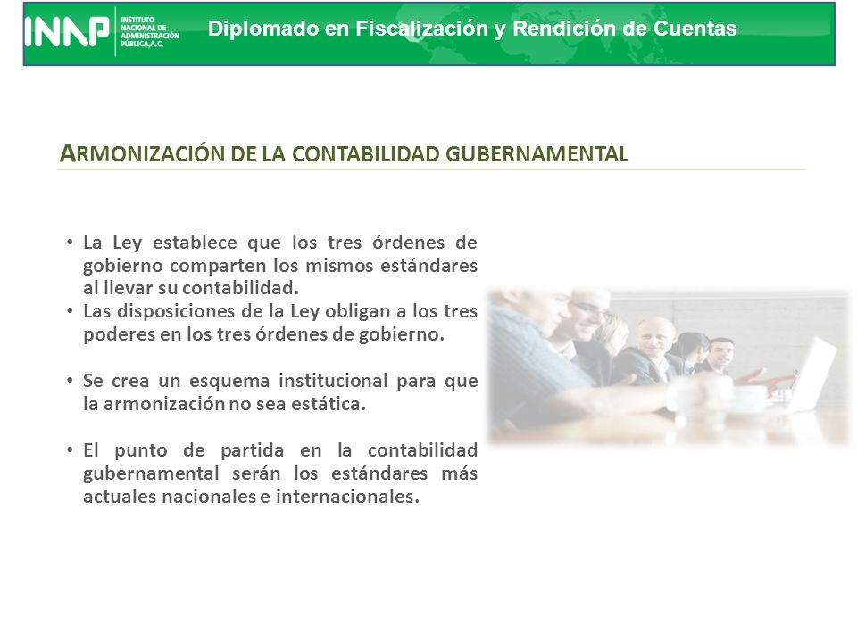 ARMONIZACIÓN DE LA CONTABILIDAD GUBERNAMENTAL