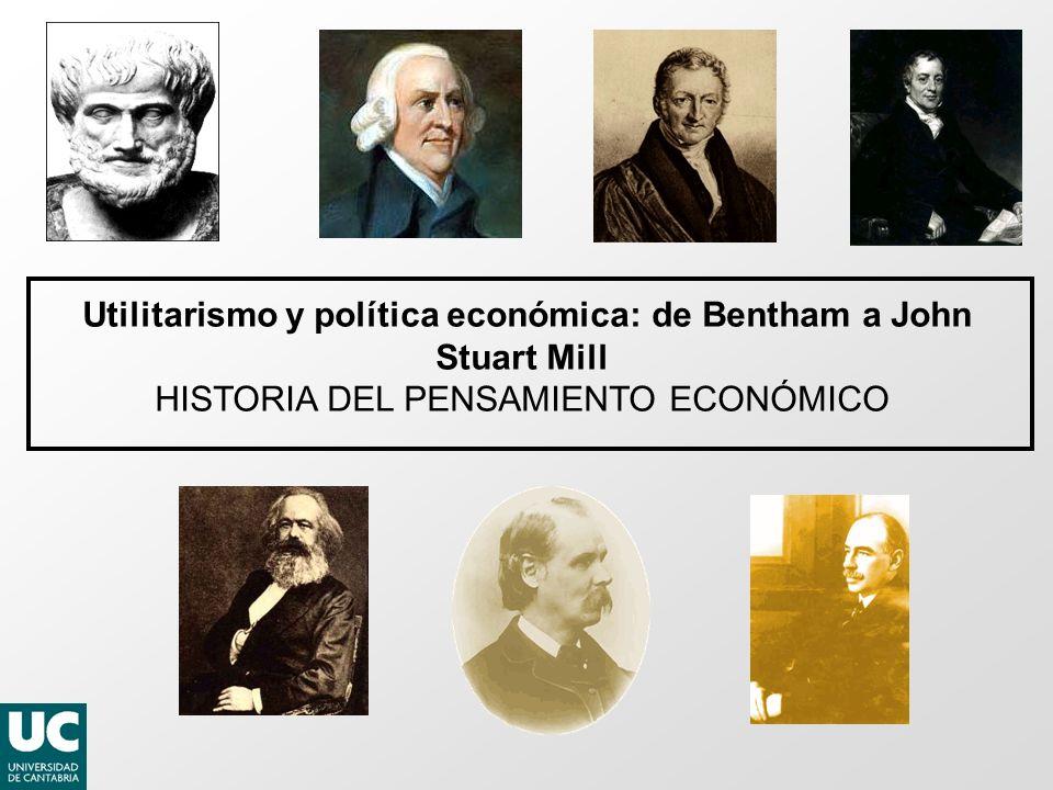 Utilitarismo y política económica: de Bentham a John Stuart Mill