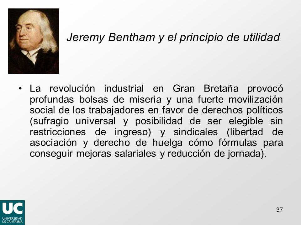 Jeremy Bentham y el principio de utilidad