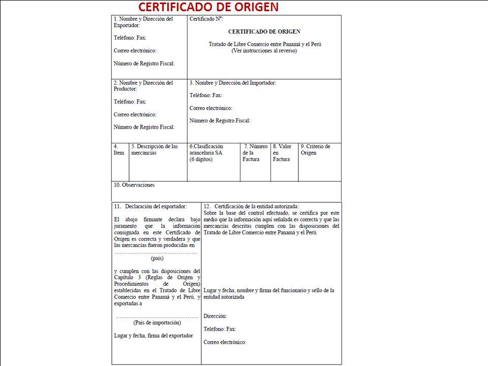 CERTIFICADO DE ORIGEN 92