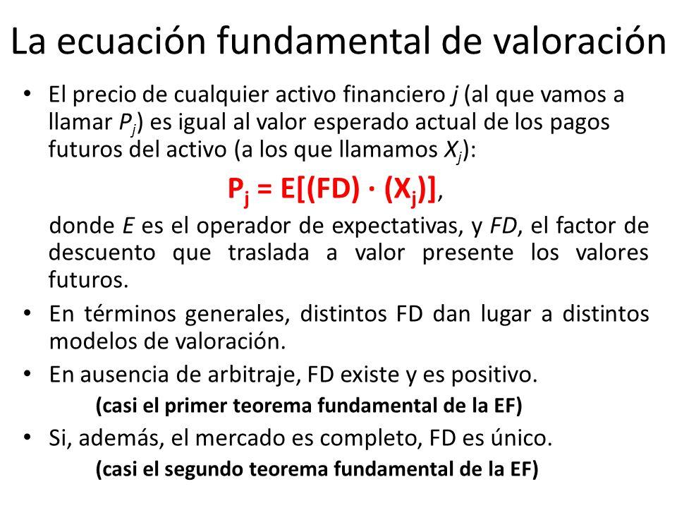La ecuación fundamental de valoración