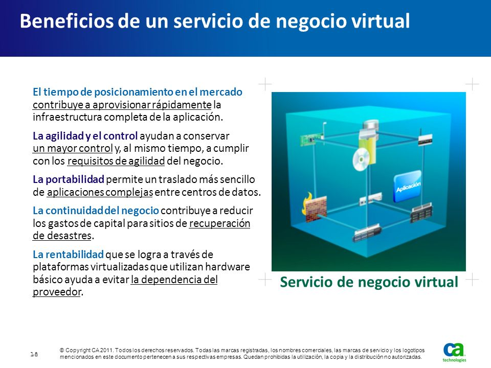 Beneficios de un servicio de negocio virtual