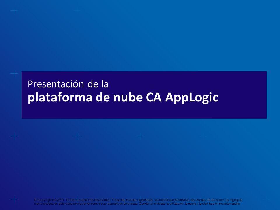 Presentación de la plataforma de nube CA AppLogic