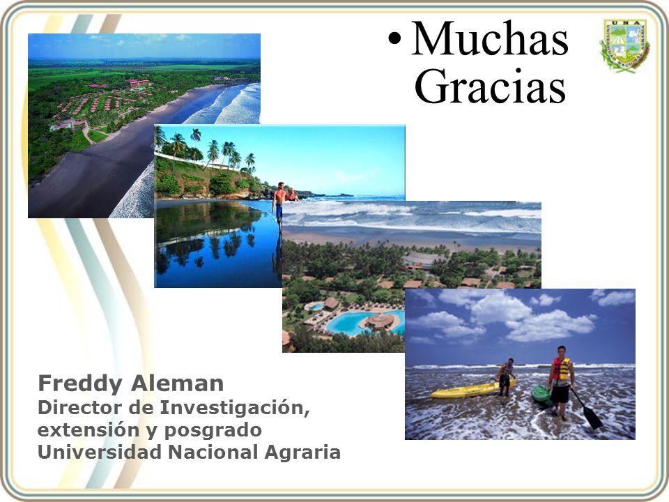 Muchas Gracias Freddy Aleman