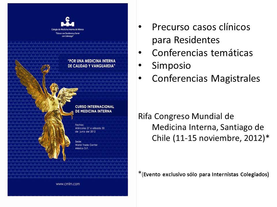 Precurso casos clínicos para Residentes Conferencias temáticas