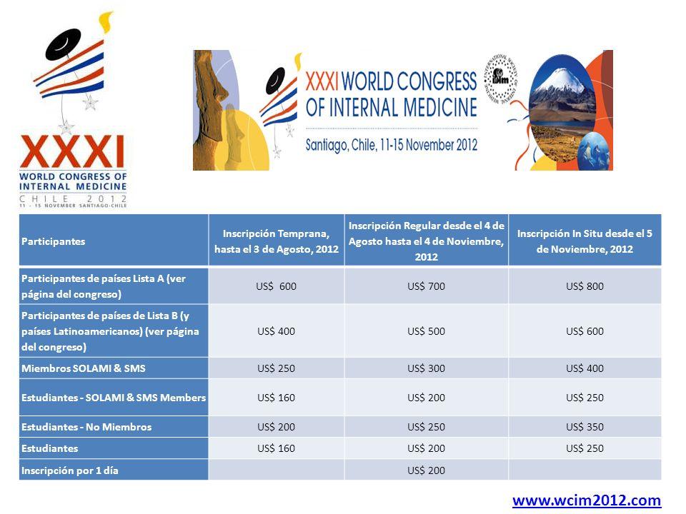 www.wcim2012.com Participantes