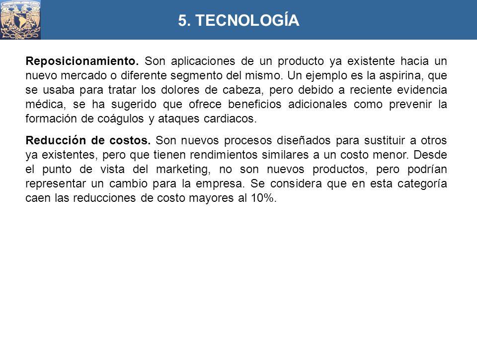 5. TECNOLOGÍA