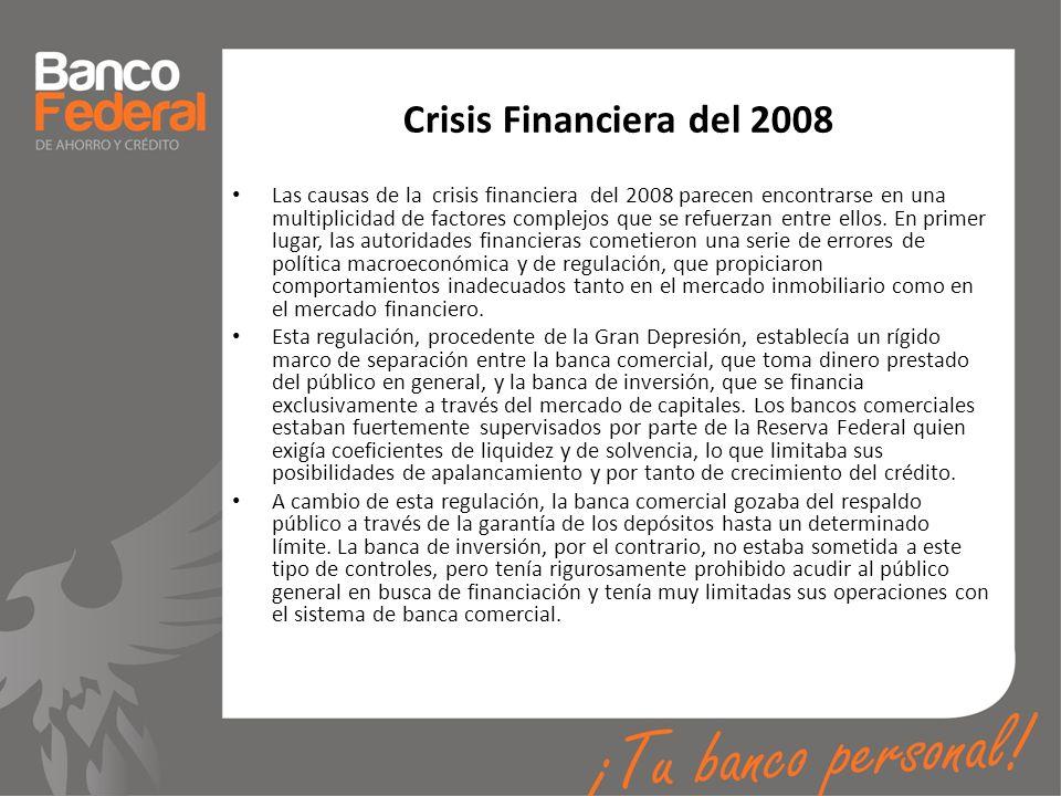 Crisis Financiera del 2008