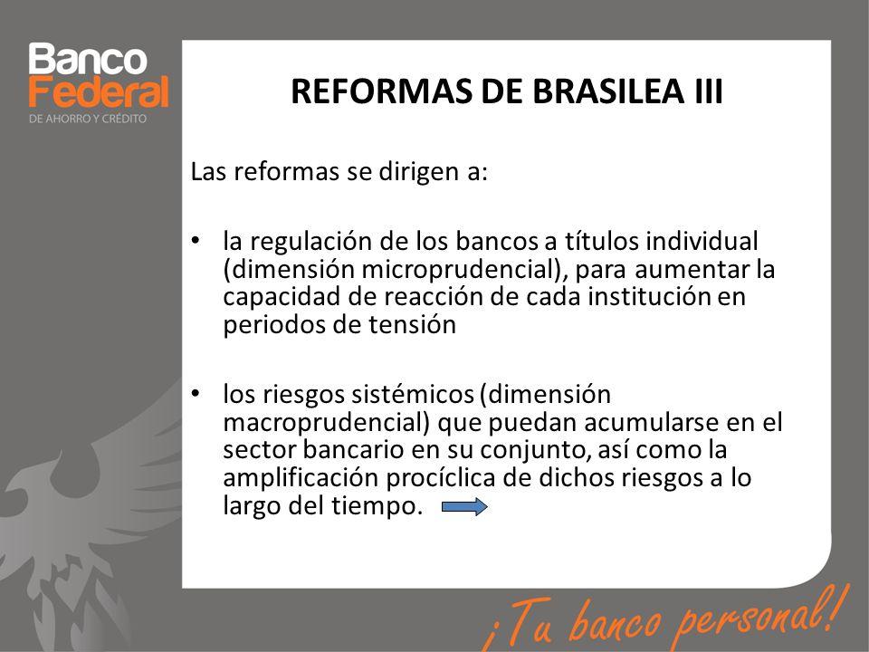 REFORMAS DE BRASILEA III