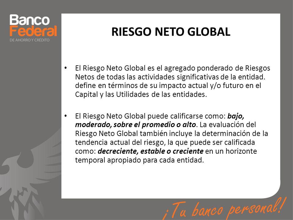 RIESGO NETO GLOBAL