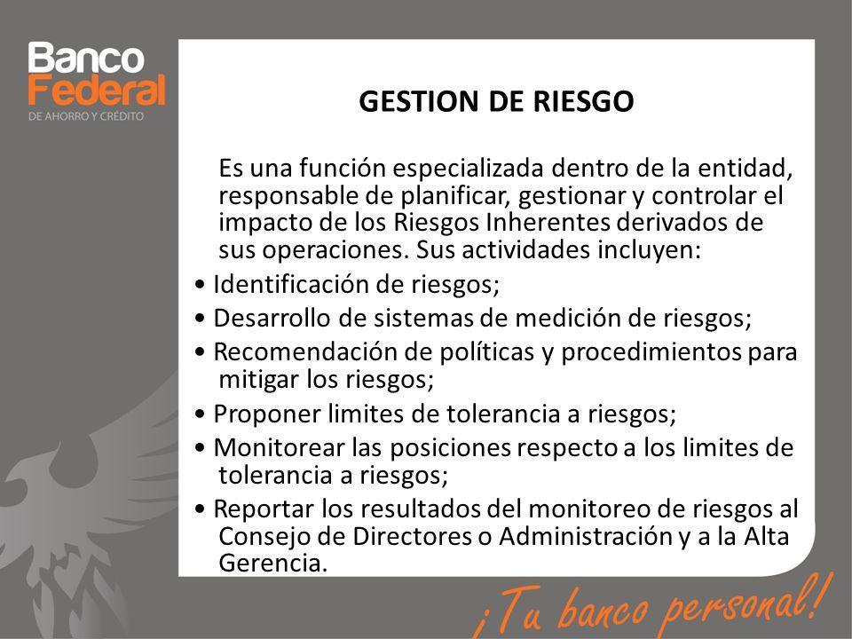 GESTION DE RIESGO
