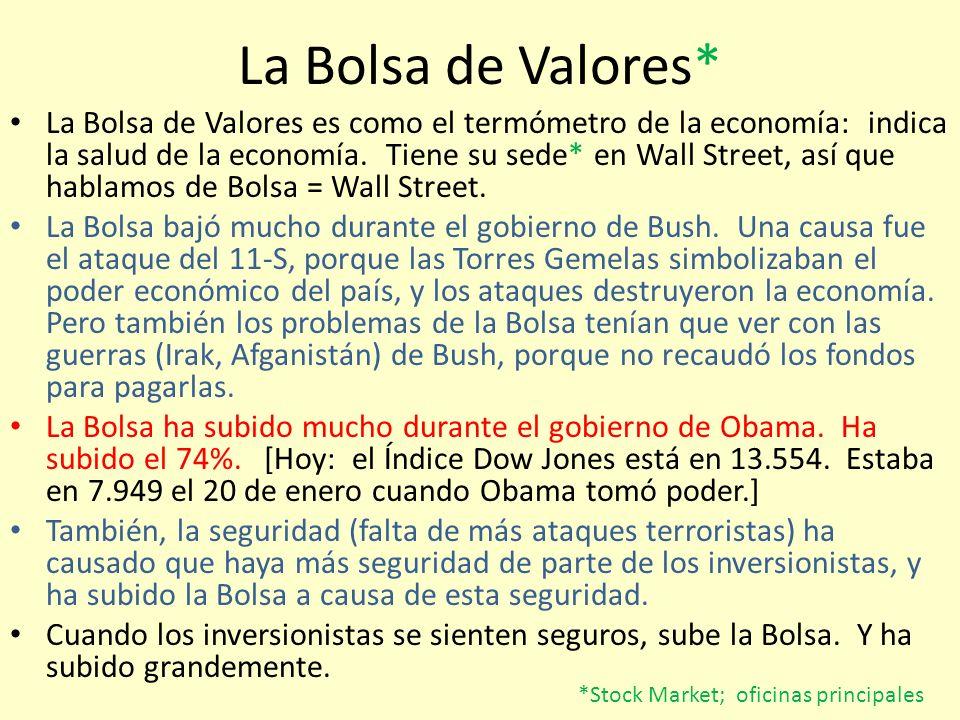 La Bolsa de Valores*
