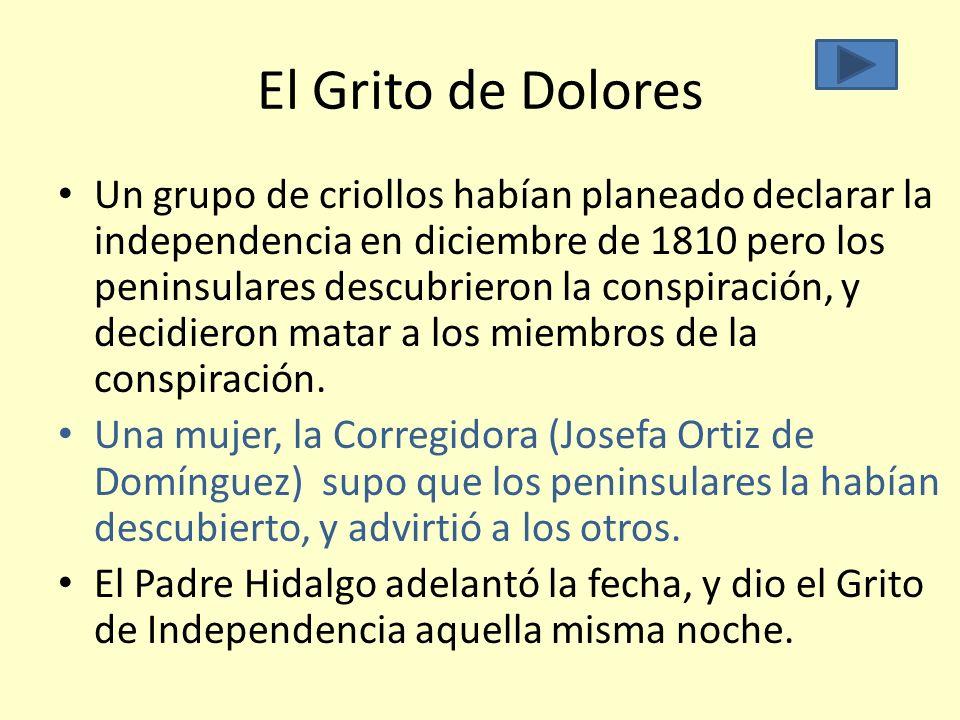 El Grito de Dolores
