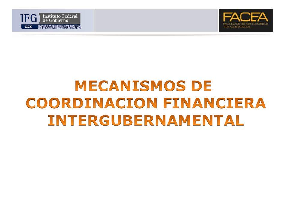 COORDINACION FINANCIERA