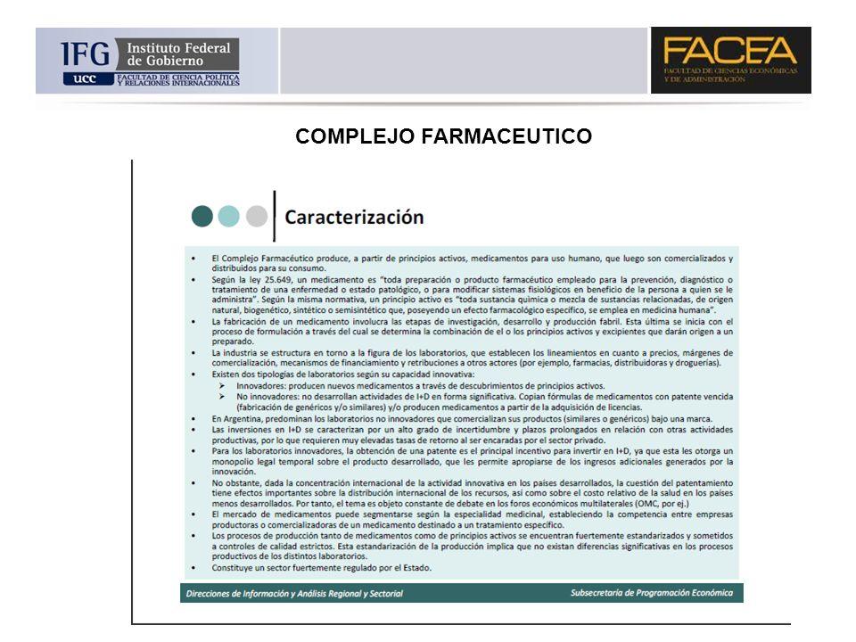 COMPLEJO FARMACEUTICO