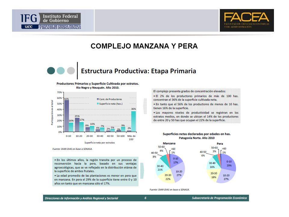 COMPLEJO MANZANA Y PERA