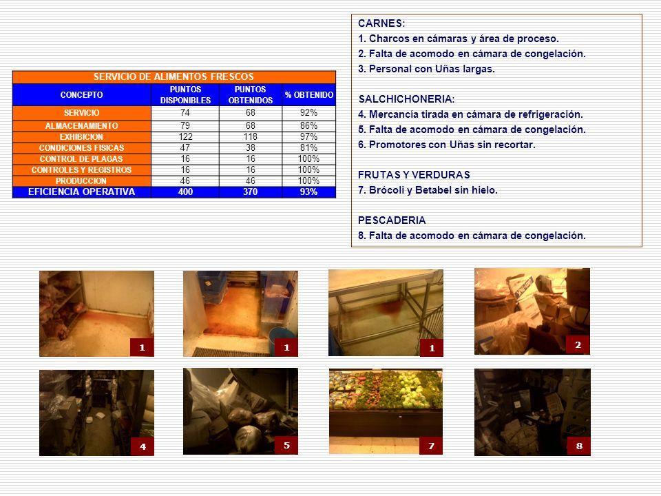 SERVICIO DE ALIMENTOS FRESCOS
