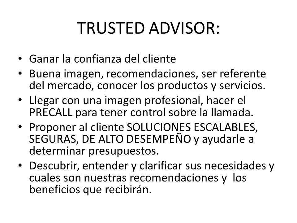TRUSTED ADVISOR: Ganar la confianza del cliente