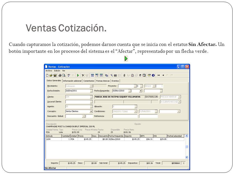 Ventas Cotización.