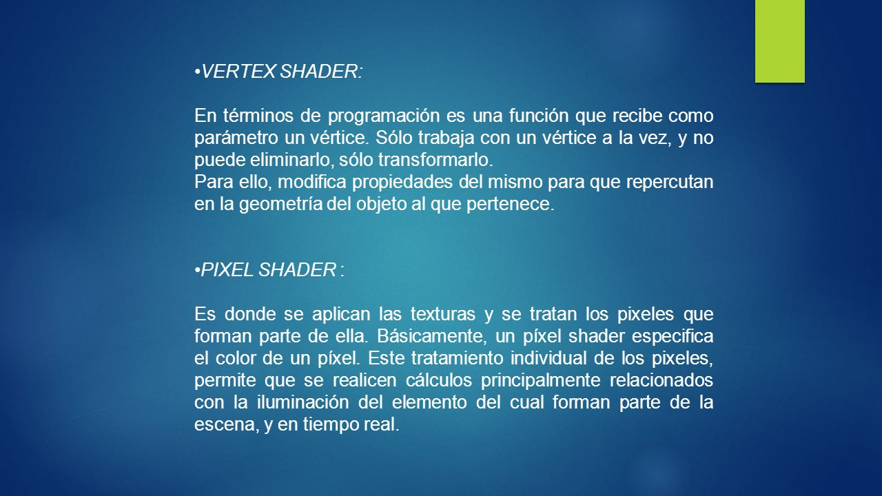 VERTEX SHADER: